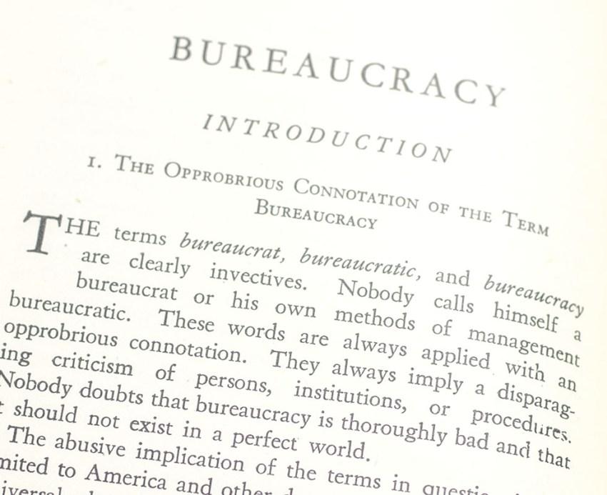 Bureaucracy.
