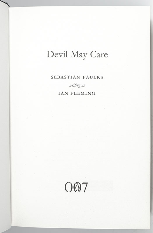 Devil May Care.