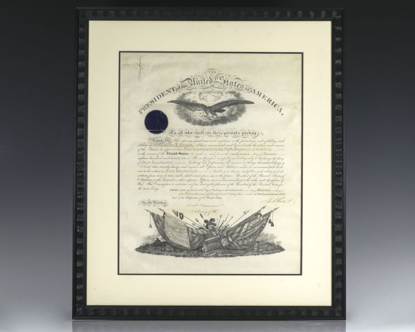 Ulysses S. Grant Autograph Military Commission Signed.