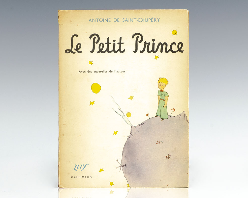 The Little Prince Le Petit Prince Antoine De Saint Exupery Early Printing
