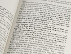 Major Campaign Speeches of Adlai E. Stevenson 1952.
