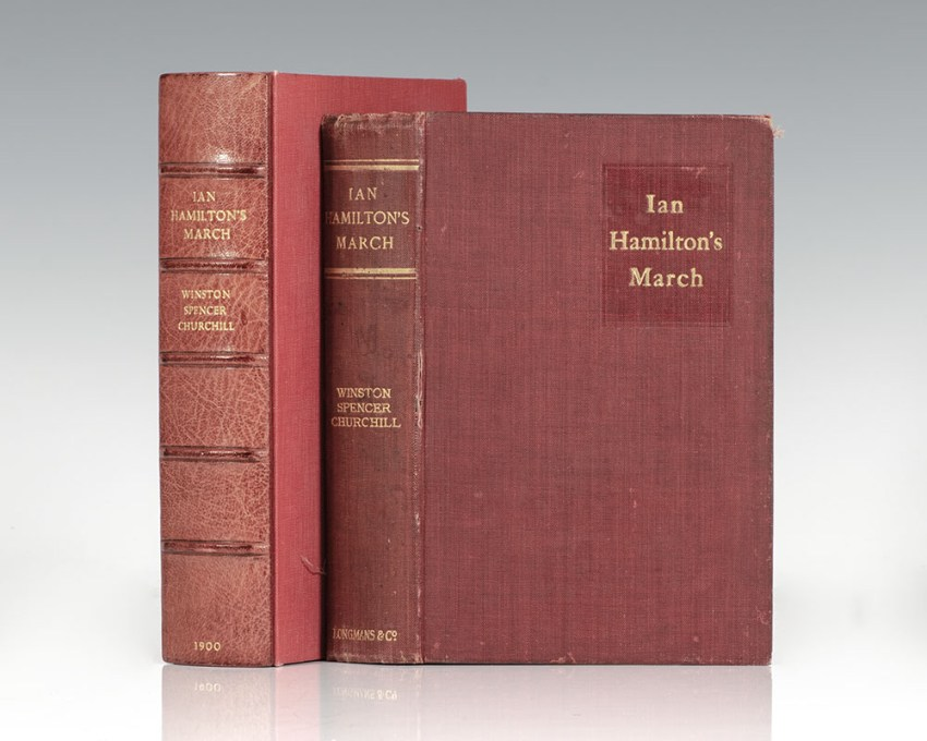 First edition of Churchill's Ian Hamilton's March