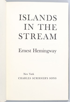 Islands In The Stream.