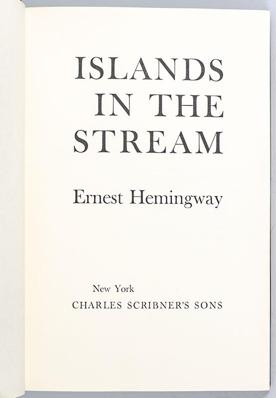 Islands In The Stream.