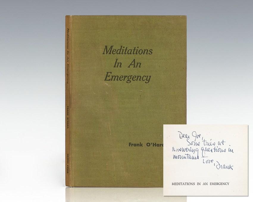 Meditations In An Emergency.