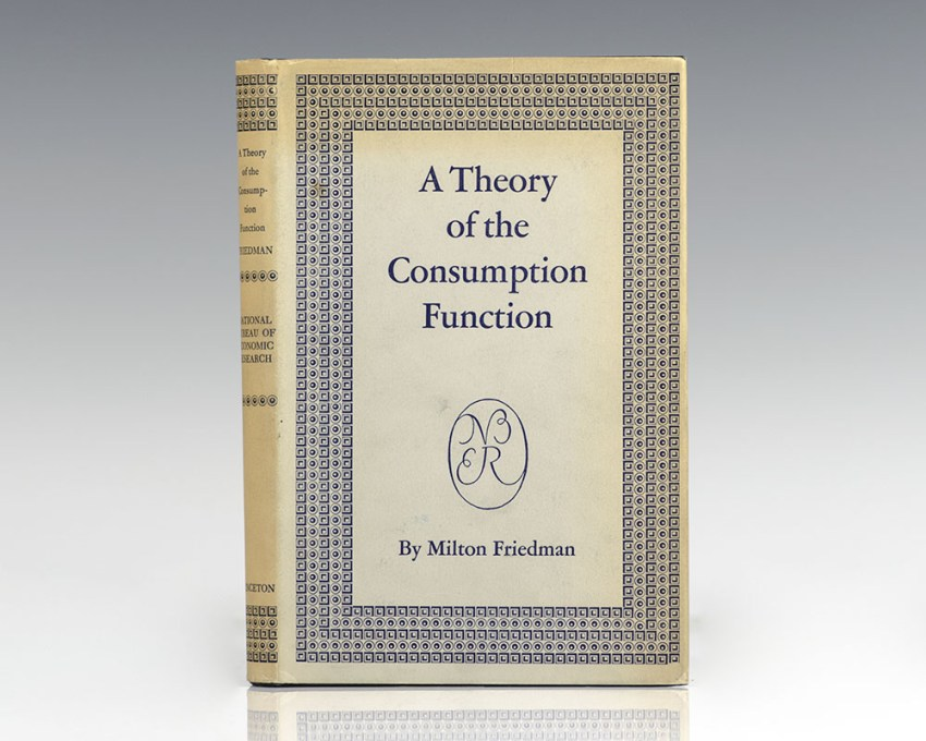 A Theory of the Consumption Function.