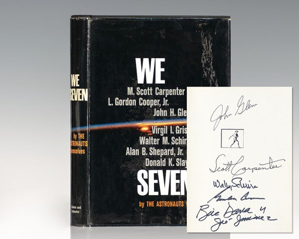 We Seven. By the Astronauts Themselves.