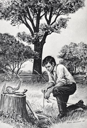 A. Lincoln with Compass and Chain: Surveying Career as Seen in His Notes and Maps, and with an Account of the Hanks family Cousins, Makers of Fine Surveying and Mathematical Instruments.