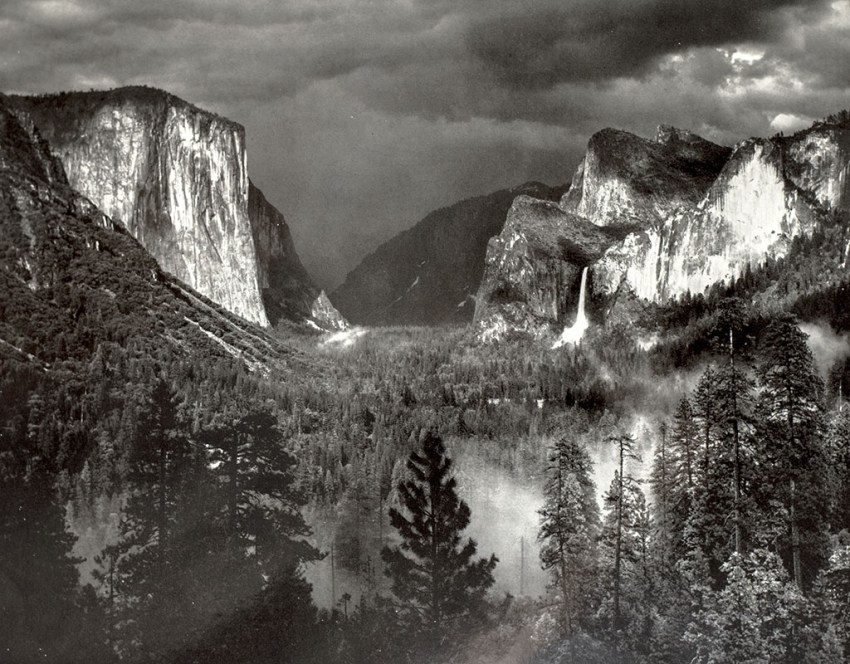 My Camera in Yosemite Valley.