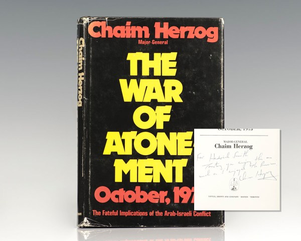 The War of Atonement: The Inside Story of the Yom Kippur War.