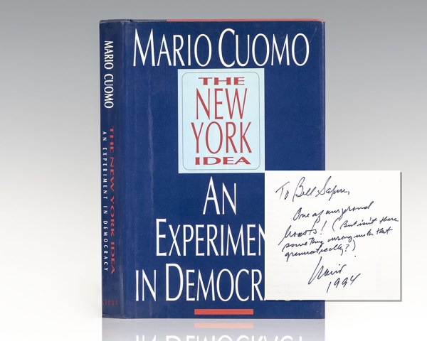The New York Idea: An Experiment in Democracy.