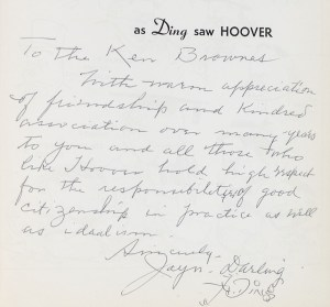 As Ding Saw Hoover.