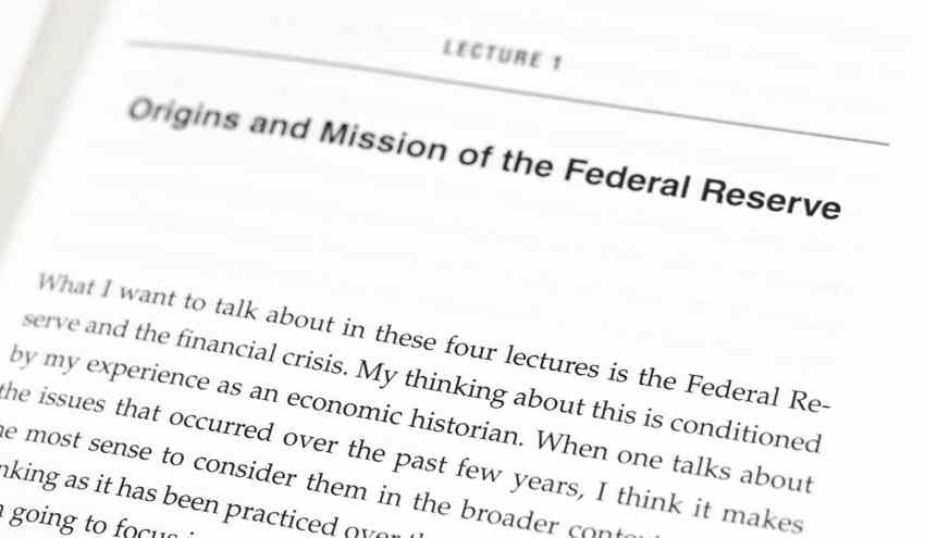 The Federal Reserve and the Financial Crisis.