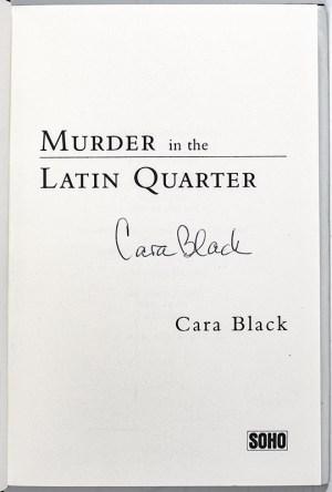 Murder in the Latin Quarter.