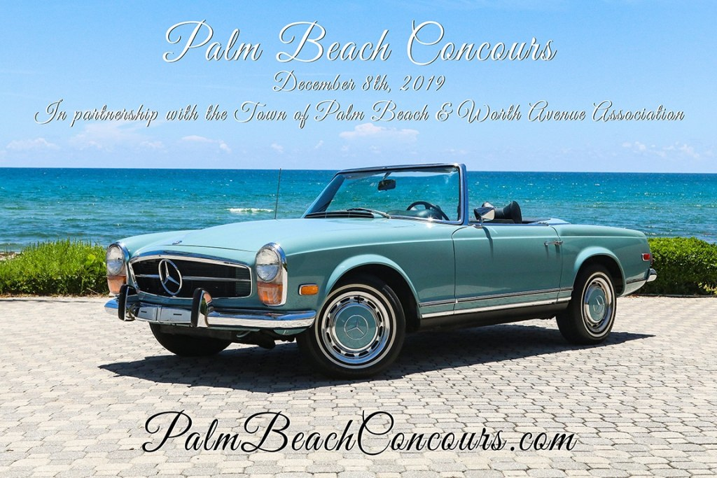 Upcoming Events: Palm Beach Concours.