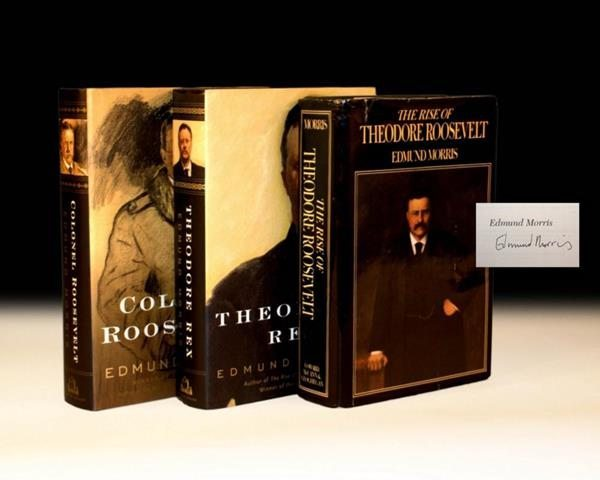 First Edition of The Rise of Theodore Roosevelt by Colonel Roosevelt