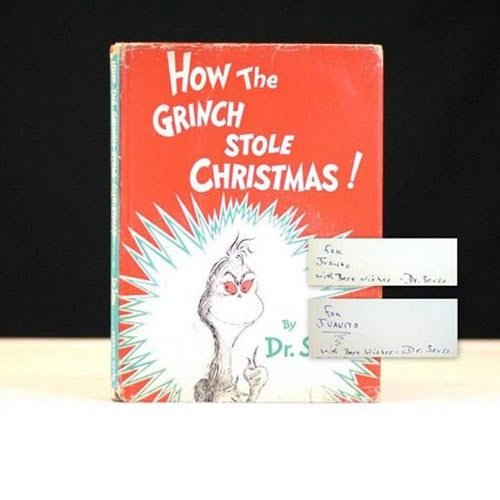"""First Edition of """"How the Grinch Stole Christmas"""" by Dr. Seuss"""