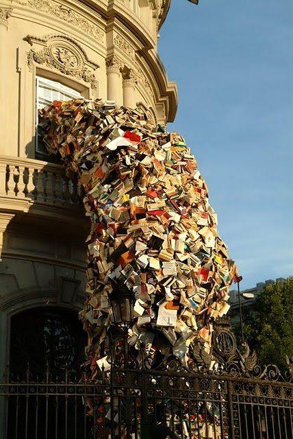 books in the wind