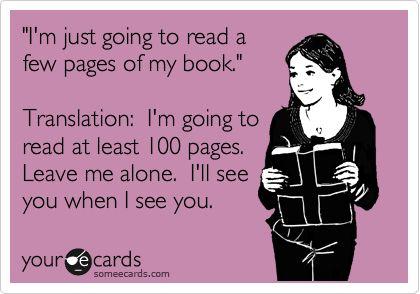 reading book humor