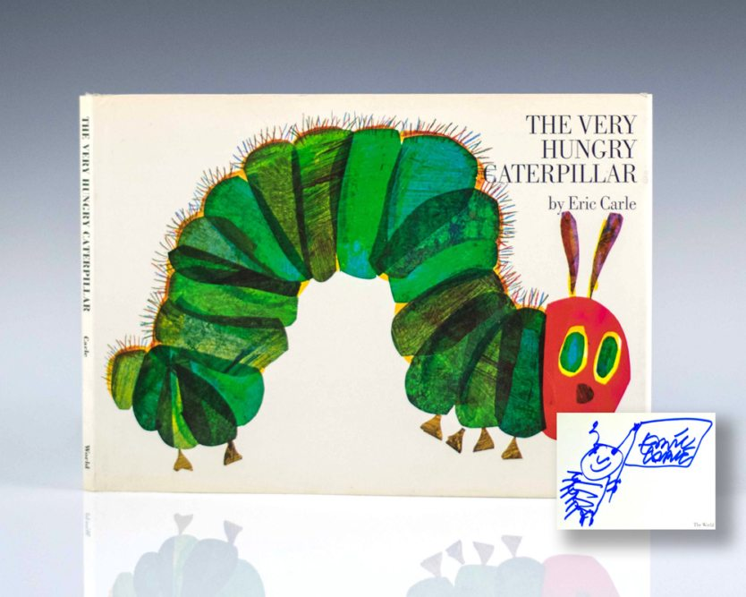 the-very-hungry-caterpillar-eric-carle-first-edition-signed-1969