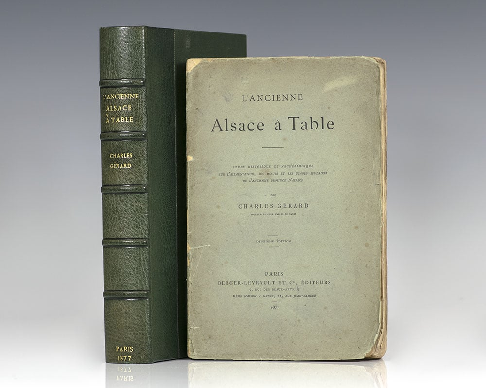 L Ancienne Alsace A Table Charles Gerard Deuxieme Edition