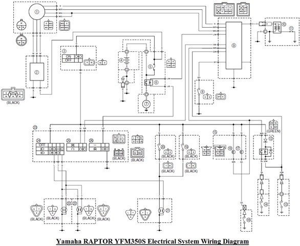 wiring diagram for a yamaha raptor 2012 wiring diagram work yamaha raptor 350 wiring diagram yamaha raptor wiring diagram #4