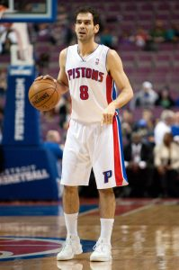 NBA: New Orleans Hornets at Detroit Pistons