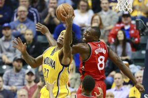Post Game Report Card: Bismack Biyombo dominates glass in Raptors win over Pacers