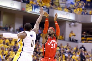 Lack of three point shooting could burn Raptors