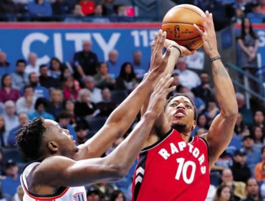 Toronto Raptors All-Star DeMar DeRozan