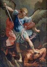 Miguel lucha contra el dragón.