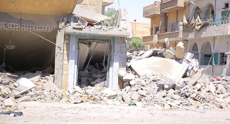 The Battle for Raqqa is one of destruction and displacement