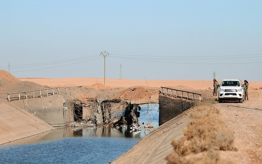 Irrigation systems are out of service in Raqqa