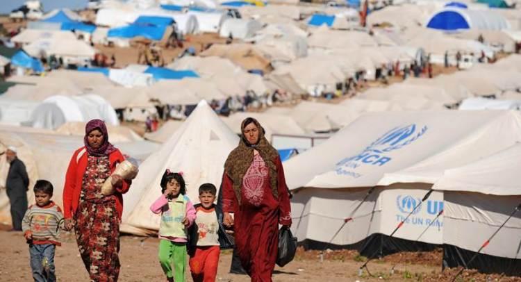 Measles spread inside Ain Issa camp