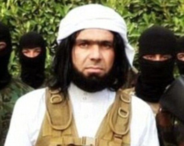 Kinky: Despite their claim to be ultra-conservative Islamic extremists, many of the militants (such as notorious commander Abu Wahib, pictured) are said buying 'strange' underwear for their wives