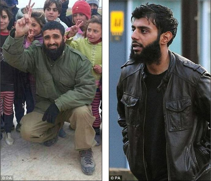 First British suicide bomber: Abdul Waheed Majid (pictured), aka the 'Crawley bomber', was the first British militant to carry out a so-called 'martyrdom operation' in Syria last February. Abu Hajar killed eight Iraqi policemen in a suicide mission last November