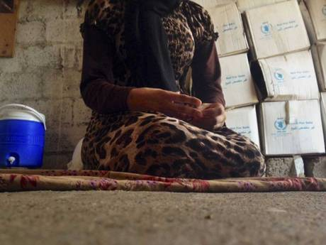A 15-year-old Yazidi girl captured by Isis and forcibly married to a militant in Syria describes her ordeal having escaped