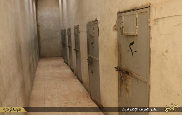داعش تدمر سجن سوريا منبج الرقة