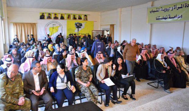 """لضمان ضمها لمشروع التقسيم، ميليشيا YPG تشكل مجلس """"رقة"""" المدني"""