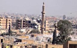 في الرقة: مقتل (21) مدنياً بغارات التحالف  ومليشيات صالح مسلم تسيطر على حي المرور