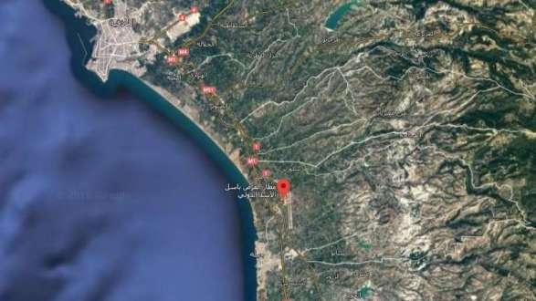 """خريطة غوغل تُظهر مطار اللاذقية بمسمى """"مطار العرص باسل الأسد"""""""