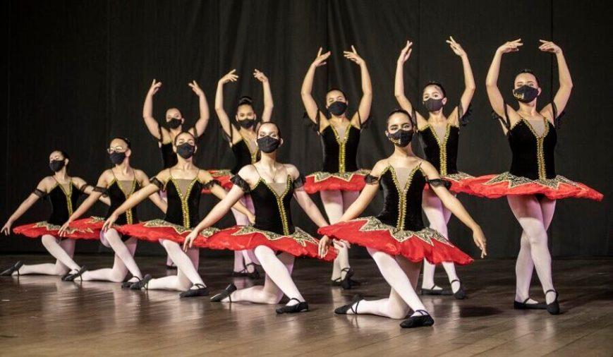 Alunas Centro de Referência em Dança Vale do Aço - Foto Rodrigo Zeferino