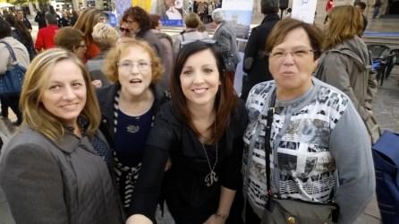selfie compañeras facebook cataluña unesco valencia