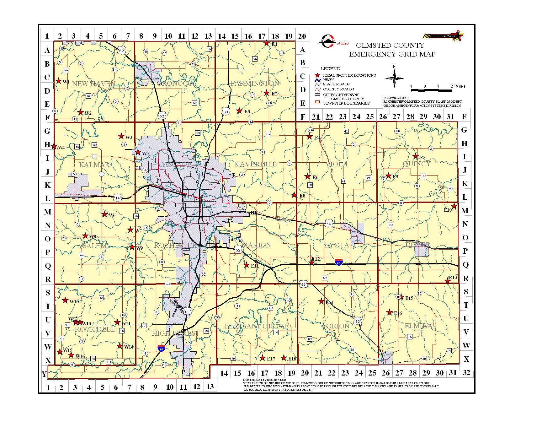 Grid Map Worksheet