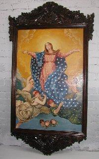 Cuzco School Of Painting Catholic Religious Art For Sale