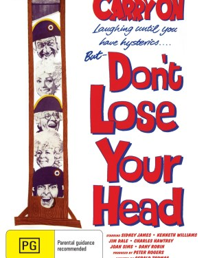 Carry On Don't Lose Your Head Rare & Collectible DVDs & Movies
