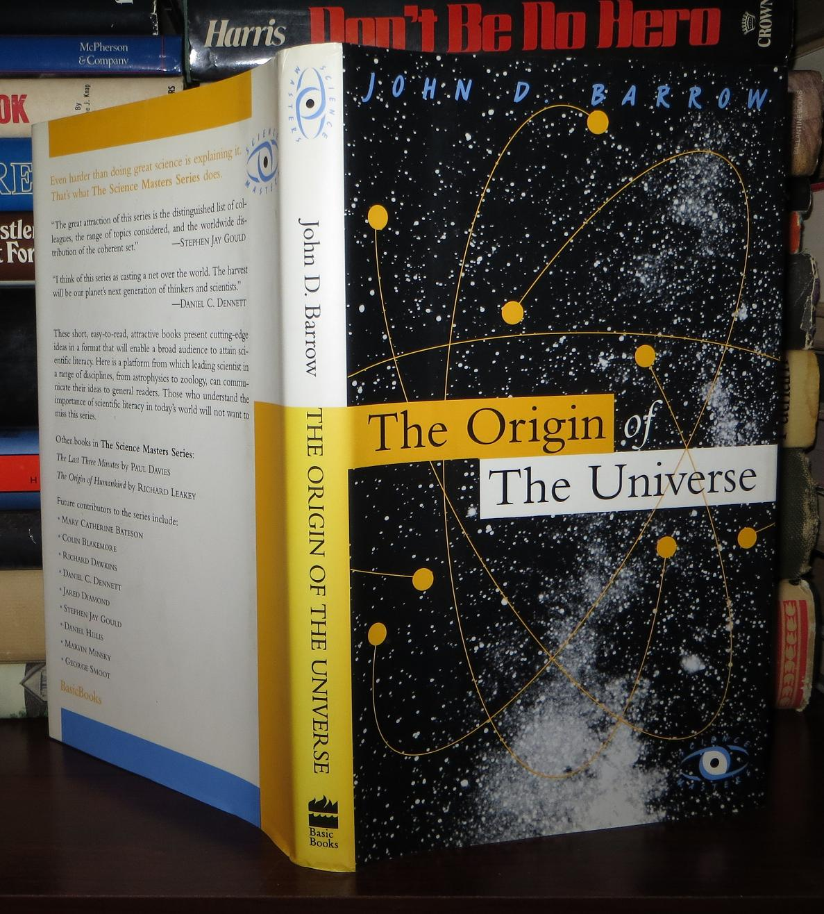 Barrow John D The Origin Of The Universe 1st Edition 1st