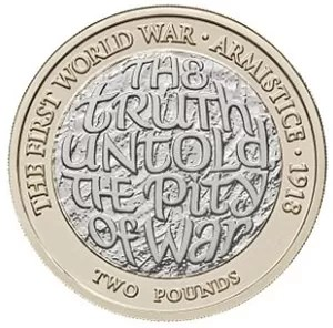First world war armistice two pound