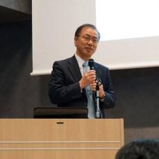 開会の挨拶 西田俊朗先生