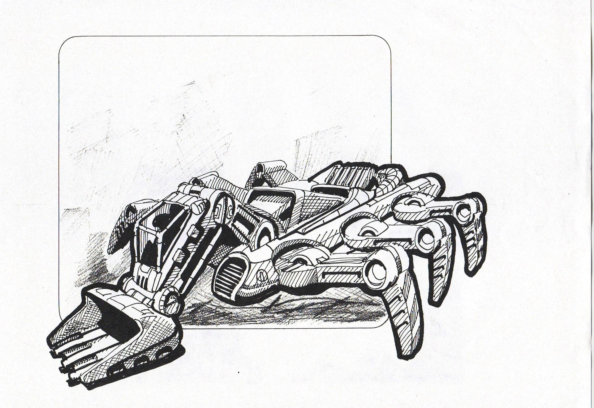 Blast Corps Concept Art Rarefandabase